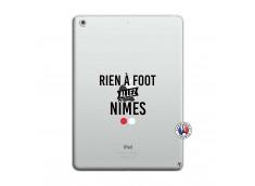 Coque iPad AIR Rien A Foot Allez Nimes