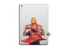 Coque iPad AIR Super Papa et Super Bébé
