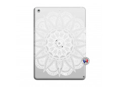 Coque iPad AIR White Mandala