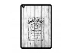 Coque iPad AIR White Old Jack Noir