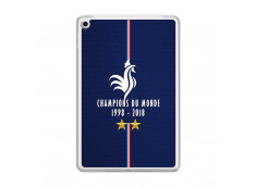 Coque iPad Mini 4 Champions Du Monde 1998 2018 Transparente