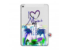 Coque iPad Mini 4 I Love Miami