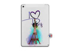 Coque iPad Mini 4 I Love Paris