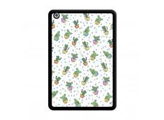 Coque iPad Mini 3/2/1 Le Monde Entier est un Cactus Noir