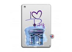 Coque iPad Mini 3/2/1 I Love Paris, i love Arc de Triomphe