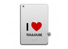 Coque iPad Mini 3/2/1 I Love Toulouse