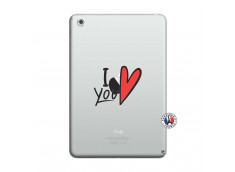 Coque iPad Mini 3/2/1 I Love You
