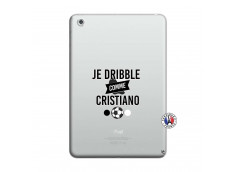 Coque iPad Mini 3/2/1 Je Dribble Comme Cristiano