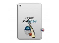 Coque iPad Mini 3/2/1 Je peux pas j'ai cricket