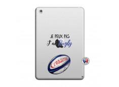 Coque iPad Mini 3/2/1 Je Peux Pas J Ai Rugby