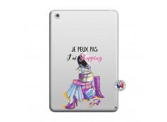 Coque iPad Mini 3/2/1 Je Peux Pas J Ai Shopping