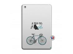 Coque iPad Mini 3/2/1 Je Peux Pas J Ai Velo