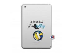 Coque iPad Mini 3/2/1 Je Peux Pas J Ai Volley