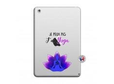 Coque iPad Mini 3/2/1 Je Peux Pas J Ai Yoga