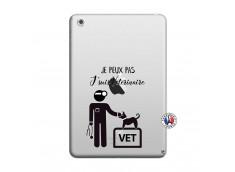 Coque iPad Mini 3/2/1 Je Peux Pas Je Suis Veterinaire