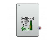 Coque iPad Mini 3/2/1 Tout Travail Merite Sa Biere