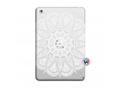 Coque iPad Mini 3/2/1 White Mandala