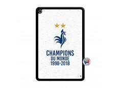Coque iPad Mini 4 Champion Du Monde Noir