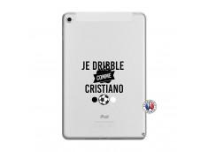 Coque iPad Mini 4 Je Dribble Comme Cristiano