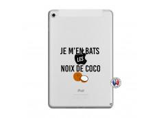 Coque iPad Mini 4 Je m'en bats Les Noix De Coco