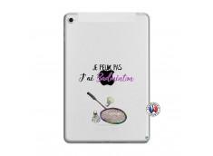 Coque iPad Mini 4 Je Peux Pas J Ai Badminton