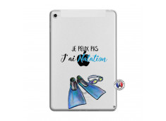 Coque iPad Mini 4 Je Peux Pas J Ai Natation