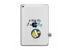 Coque iPad Mini 4 Je Peux Pas J Ai Volley