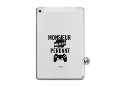 Coque iPad Mini 4 Monsieur Mauvais Perdant