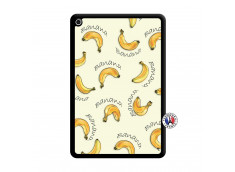 Coque iPad Mini 4 Sorbet Banana Split Noir