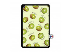 Coque iPad Mini 4 Sorbet Kiwi Noir
