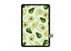 Coque iPad Mini 4 Sorbet Avocat Noir