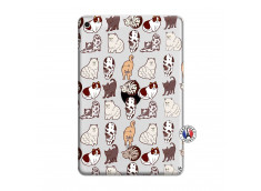 Coque iPad Mini 5/4 Cat Pattern