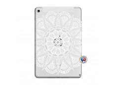 Coque iPad Mini 5/4 White Mandala