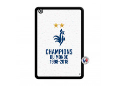 Coque iPad Mini Champion Du Monde Noir