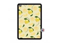 Coque iPad Mini Sorbet Citron Noir