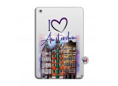 Coque iPad Mini 3/2/1 I Love Amsterdam