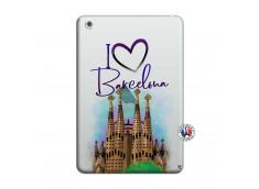 Coque iPad Mini 3/2/1 I Love Barcelona