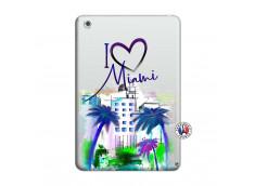 Coque iPad Mini 3/2/1 I Love Miami