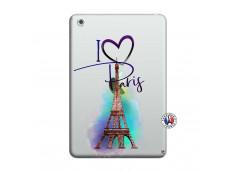 Coque iPad Mini 3/2/1 I Love Paris