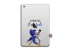Coque iPad Mini 3/2/1 Je peux pas j'ai Judo