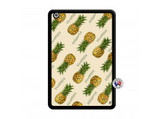 Coque iPad Mini Sorbet Ananas Noir