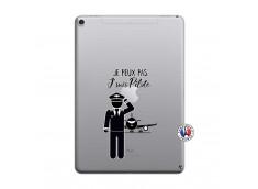 Coque iPad PRO 10.5 Je peux pas j'suis pilote