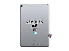 Coque iPad PRO 10.5/air 2019 Marseillais à Vie