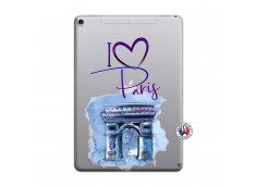 Coque iPad PRO 10.5 I Love Paris Arc Triomphe
