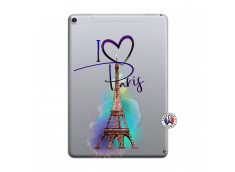 Coque iPad PRO 10.5 I Love Paris