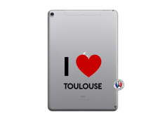 Coque iPad PRO 10.5 I Love Toulouse