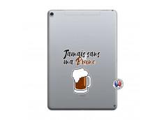 Coque iPad PRO 10.5 Jamais Sans Ma Brune