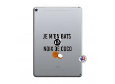 Coque iPad PRO 10.5 Je m'en bats Les Noix De Coco