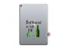 Coque iPad PRO 10.5 Tout Travail Merite Sa Biere