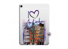 Coque iPad PRO 2018 11 pouces I Love Amsterdam